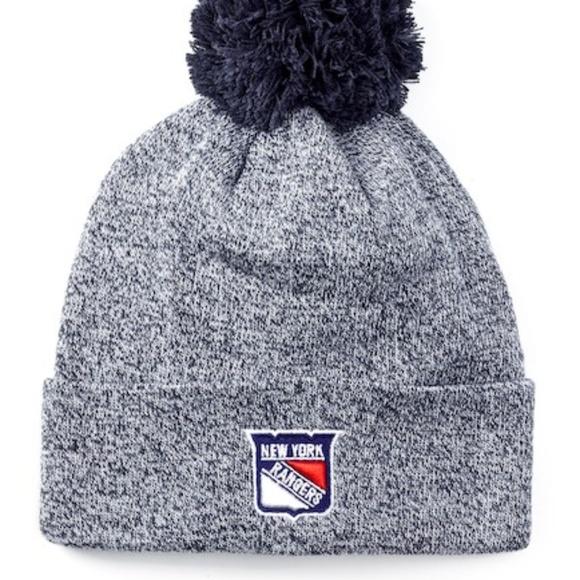 d1149947bab American Needle New York Rangers knit beanie hat